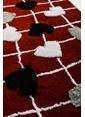 Chilai Home Kalbim Paspas 60x100 Cm Kırmızı